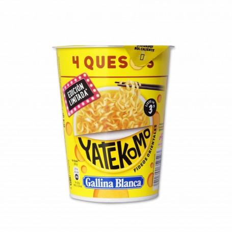 Gallina Blanca Yatekomo 4 Quesos Fideos Orientales - 64g