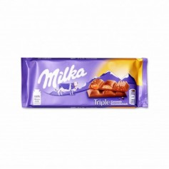 Milka Chocolate con Leche Triple Caramelo - 90g
