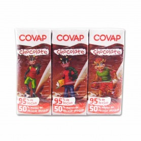 Covap Batido de Chocolate - (6 Unidades) - 1200ml