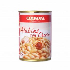 Campanal Alubias con Chorizo - 425g