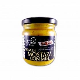 Salsas Asturianas Salsa de Mostaza con Miel Gourmet - 210g