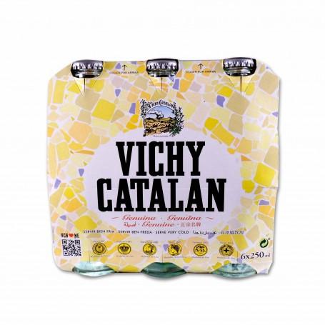 Vichy Catalan AguaMineral Naturalcon Gas - (6 Unidades) - 1500ml