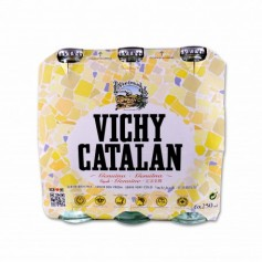 Vichy Catalan Agua Mineral Natural con Gas - (6 Unidades) - 1,5ml