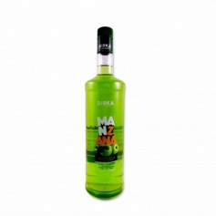 Riska Licores Bebida Refrescante de Manzana - 1L