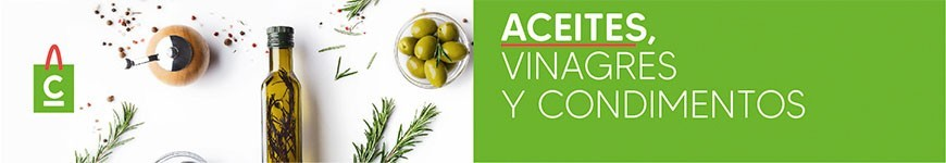 Aceites, Vinagres y Condimentos